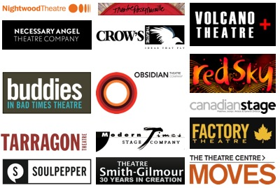 Logos for Theatres in Toronto